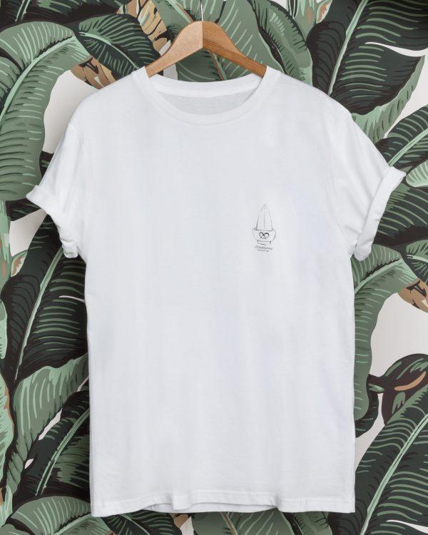 Brennsuppn Surfing - Schüssel - Nachhaltiges Bio Baumwolle Shirt Weiss / Weiß / White